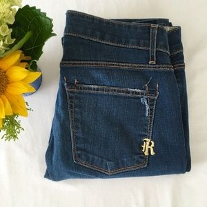 Rich & and Skinny Distressed Jeans